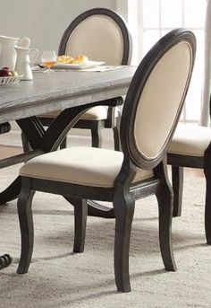Homelegance Lindley Collection Dining Chair Set Of 2 1947S