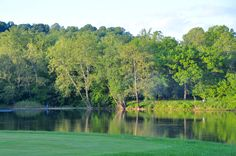 Pete Dye River Course - hole 18, from tee box looking towards the mouth of Crab Creek, Ralph Arthur photo