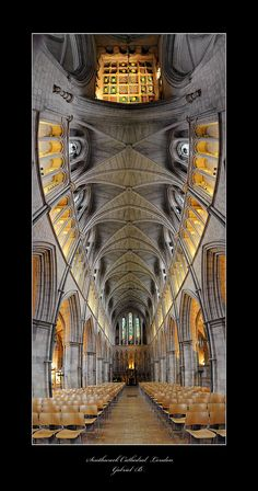 Southwark Cathedral London, by Gabriel Buse