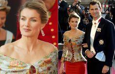La princesa Letizia en la gala previa a la boda de Federico y Mary de Dinamarca #royals #royalty #princess #spain