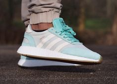Adidas Iniki Runner Boost wmns - Easy Green/Cream White - 2017 (by 4lxndr_o)