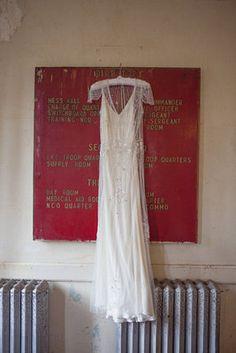 Jenny Packham dress - amazeballs Vintage, Artsy, Eco-Friendly Wedding