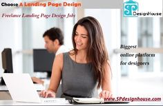 Find #landingpagedesignfreelanceJobs on Spdesignhouse.com and grow your career. The biggest online platform for designers. create online contest today. It's free to sign up and bid on jobs. Visit Today!