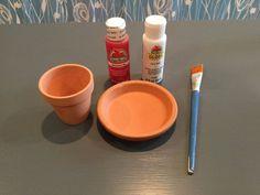 flower pot to mushroom cup holder