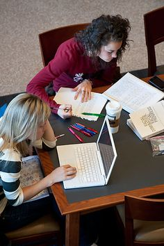 Sick of your go-to study spot? Check out these favorite (and unknown) study locations from the Office of Admissions. (photo from University Communications)