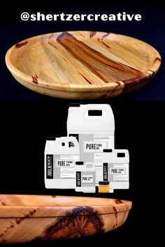 This beautiful serving platter created by @shertzercreative would be a great addition to any kitchen. Finished with Pure Tung Oil this piece now has a water-resistant, durable, and lustrous finish. Pure Tung Oil is a great way to seal your piece and give it a finish that will last for many years to come. The nice thing is, Pure Tung Oil is food-contact-safe, non-toxic, and chemical-free. This means you can use it on other food-prep areas like butcherblock countertops, cutting boards, and more. Natural Honey, Natural Wood, Pure Tung Oil, Refinish Wood Floors, Real Milk Paint, Wood Finishing, Paint Thinner, Wood Oil, Wood Counter