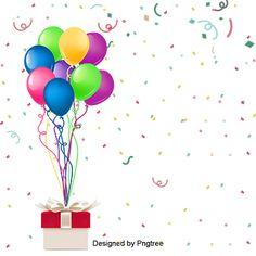 Happy Birthday Decor, Birthday Party Clipart, Colorful Birthday Party, Happy Birthday Text, Happy Birthday Posters, Happy Birthday Balloons, Happy Birthday Parties, Colorful Party, Birthday Party Decorations