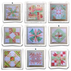 Threadbare Creations- Chatelaine Free BOW Sampler Quilt Blocks 64-72
