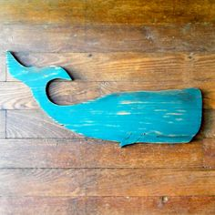 Whale Beach Decor Larger Moby Sperm Whale Fish Ocean Coastal Decor Nautical Decor. $49.00, via Etsy.