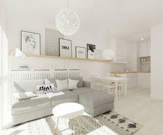 Scandinavische woonkamers van 4ma projekt