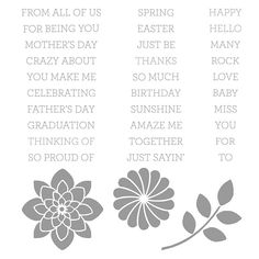 Crazy about You Photopolymer Stamp Set by Stampin' Up!