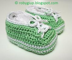 RobyGiup handmade: Per un bimbo americano - For an american baby Crochet Baby Shoes, Crochet Clothes, American Baby, Baby Shower Gifts, Kids, Handmade, Crafts, Community, Babies