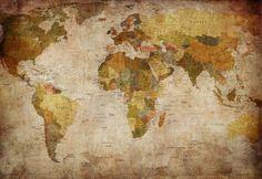 Wall mural R10771 World Map