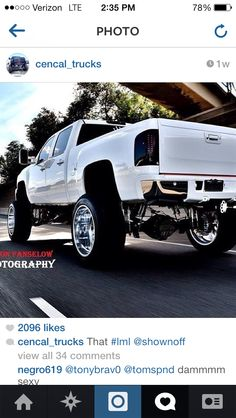 Lifted truck!!! Go follow Hey Y'all Blowout Sale, 50% OFF! Support and Roll Coal For Diesel Dave. Buy Awesome Diesel Truck Apparel! Make Sure To Click That Link Below Or Click It On My Bio! Stay Tuned For Truck Giveaways. http://www.dieselpowergear.com/#_a_Cowroy