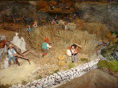 Ma crèche de Noel 2012 1ere PARTIE - Santons et crèches de Provence