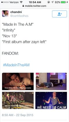 Made in the after Malik #MadeInTheAM
