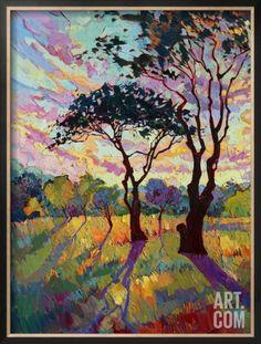 California Sky (bottom left) Framed Giclee Print by Erin Hanson at Art.com