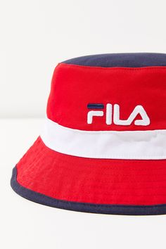 Vintage Tommy Hilfiger Bucket Hat (370 ARS) ❤ liked on