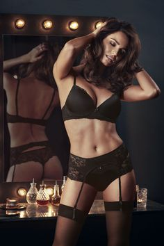 Change Lingerie, Black Lingerie, Pusheen, Beautiful Lingerie, All Black, Bikinis, Swimwear, Perfect Fit, Glamour