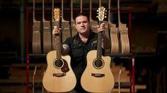 Andy Allen, Maton Guitars Custom Shop.  The Maton Australian and the W.A May Custom Shop