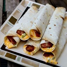 Everything you love about a Jalapeno Popper, rolled into a tortilla with a full piece of bacon, then baked until crispy.