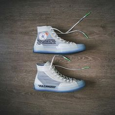 Closer look at 2018's Converse x Off White release. Cop or Drop? Follow @HypeMonsterz for more Dope pics . #HypeMonsterz