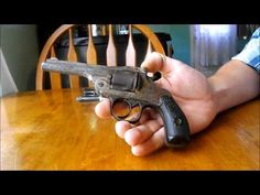 Antique Firearms: F&W 1890 Perfection Revolver - YouTube