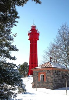 Ristna lighthouse, Hiiumaa island, Estonia Candle On The Water, Baltic Region, Lighthouse Art, Beacon Of Hope, Nautical Art, Carousels, Porch Lighting, Water Tower, Light House
