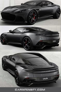 Aston Martin DBS Superleggera configured in Gloss Xenon Grey. Aston Martin DBS Superleggera in Gloss Xenon Grey konfiguriert. Luxury Sports Cars, New Sports Cars, Exotic Sports Cars, Best Luxury Cars, Sport Cars, Exotic Cars, Aston Martin Dbs, Porsche 911 Carrera S, Mini Countryman
