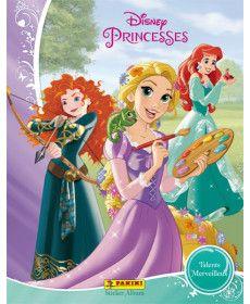 10 bolsas princesas Panini Disney Princess sticker /& cards-sticker album