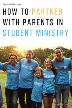 Through the partnership with parents, there are five ways that you as a pastor or a youth worker can partner with parents to help develop a stronger student ministry.