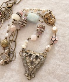 Victorian Charm Necklace