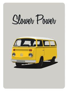 Image of Affiche Combi VW - pickup Volkswagen Transporter, Volkswagen Bus, Vw T1, Kombi Camper, Campervan, Volkswagen Vintage, My Dream Car, Dream Cars, Combi Vw T2
