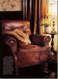 everyone needs a big cosy armchair like this