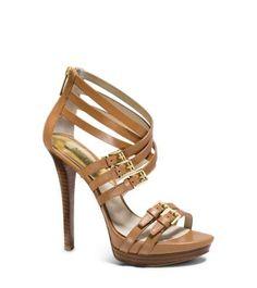 Ava Leather Platform Sandal