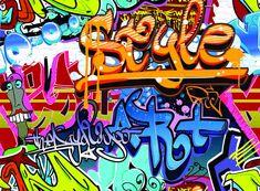 Graffity - Fotobehang - 232 cm x 315 cm - Multi