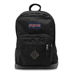 Get geared up with the JanSport City Scout backpack. With an eye-catching color contrast bottom, internal 15 inch laptop sleeve and front organizational pocket, this is the ultimate everyday backpack. Mochila Jansport, Jansport Backpack, Laptop Backpack, Black Backpack, Backpack Camping, Backpack Purse, Backpack Reviews, Stylish Backpacks, School Backpacks