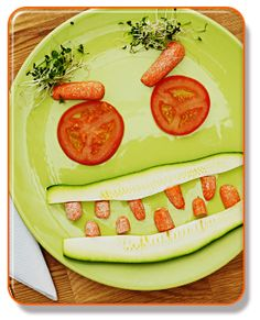 vegetables with faces - Google Search