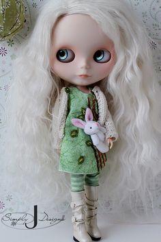 i love her hair #Blythe doll #cute