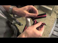 TUTORIAL: Homemade TRX Suspension Training (Part 2) - YouTube