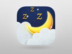Dream Catcher iOS icon by Valik Boyev Ios Design, Graphic Design, Mobile App Icon, Ios 7, Ios Icon, Dream Catcher, Creative, Apps, User Interface