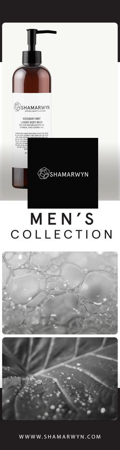 For the man who demands excellence. Natural Body Products!