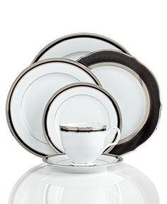 Noritake Austin Platinum 50-Pc. Service for 8 | Noritake, Dinnerware ...