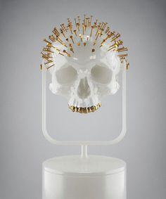 Gold | ゴールド | Gōrudo | Gylden | Oro | Metal | Metallic | Shape | Texture | Form | Composition |  Skull 333 © Hedi Xandt