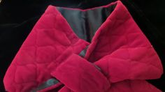 #Elegant & #Fabulous Red Velvet Muffler by Linda Dano at JennieJamesResale, $55.99. TAKE A LOOK AT THIS! Perfect for the Holidays!