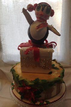 Torta Pinguino Torta Natale Christmas Cakes