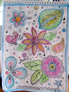 more doodles :) - from a fabulous blog - she is so talented
