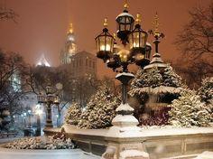 New York City at Night by Evan Joseph