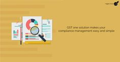 GST #OneSolution provides you the best #service to manage you #GSTCompliance easily and simply. https://goo.gl/yZUKzh