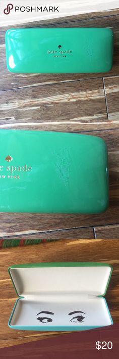 Kate Spade Eyeglass Case Slight damage seen in pics kate spade Accessories